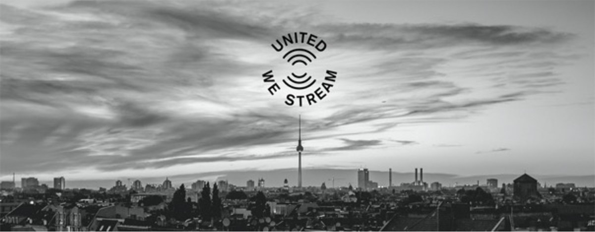 "Titelbild der Streaming-Plattform ""UnitedWeStream"""